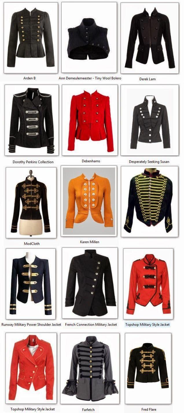 Ubrania W Stylu Militarnym Stylu Michaela Jacksona Edytowany About Me Blog