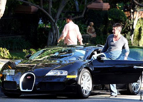 simon cowell 39 s 1 2 million black bugatti veyron rubbish fashion choice. Black Bedroom Furniture Sets. Home Design Ideas