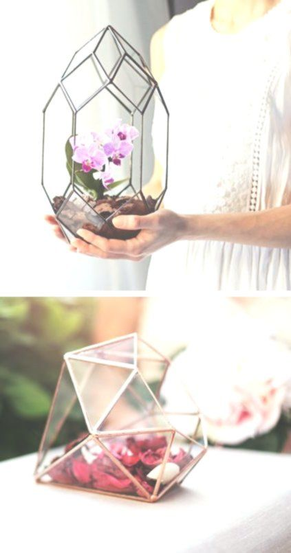 Handmade Geometric Terrariums by Waen Handmade Geometric Terrariums by Waen -