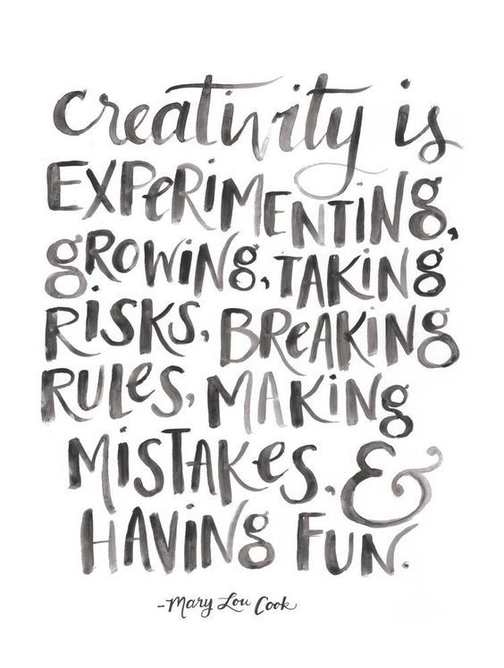 Quotes On Creativity Cool The Great Thing About Being An Artist Is That Everyone's Creativity . Decorating Inspiration