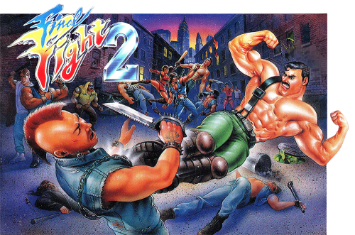 Thevideogameartarchive The Western Cover For Final Fight 2