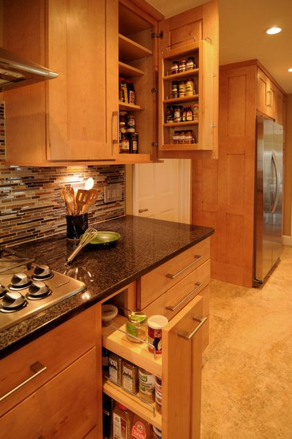 Spice drawer Organization Pinterest Küchenschränke, Bau und - gewürzregale für küchenschränke