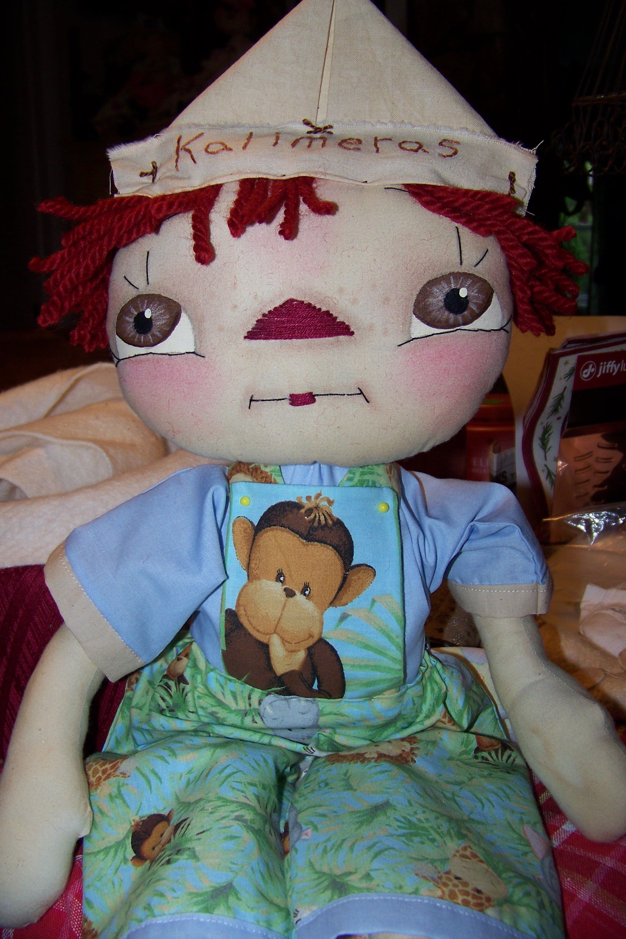 JUNGLE RAGGEDY ANDY DOLL CHECK MY SHOP