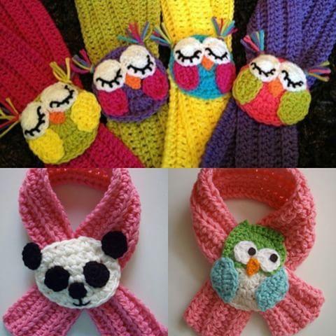Lindas Bufandas Con Hermoso Y Unicos Detalles De Animalitos Ninas Bebes Ninos Crochet Colores Ganchillo Bebe Bufandas Para Ninos Aplique De Ganchillo