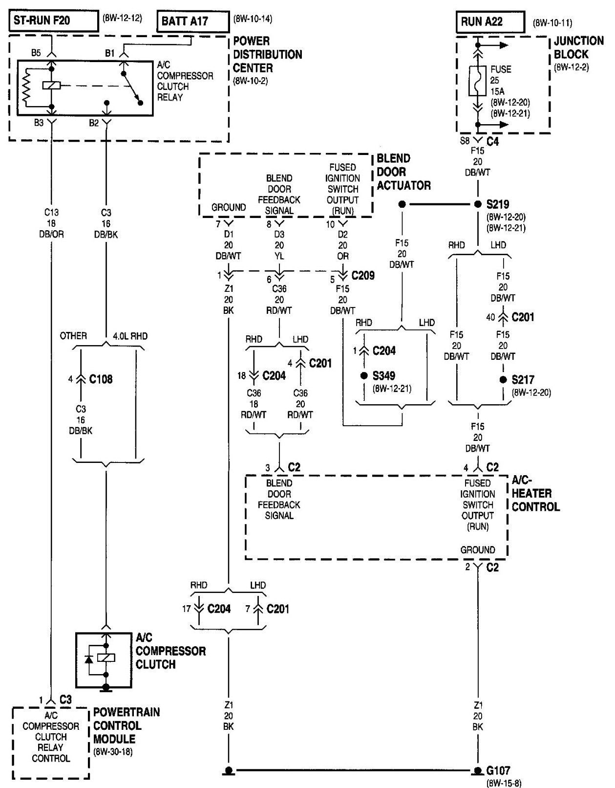Unique 94 Jeep Grand Cherokee Stereo Wiring Diagram #