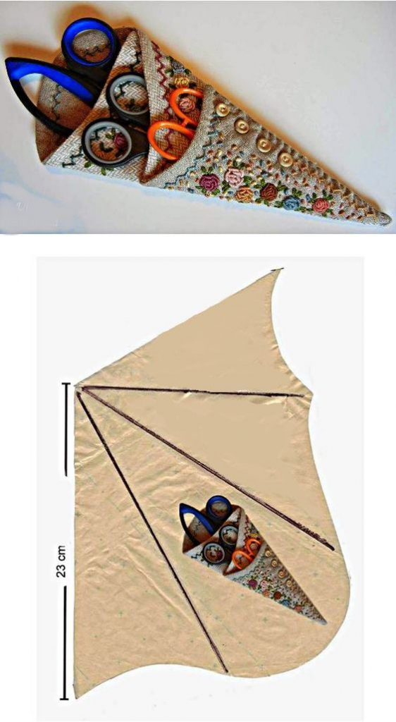 Fabulosas Ideas con Moldes para Guardar Las Tijeras al mejor estilo de El Mejor Tip Casero