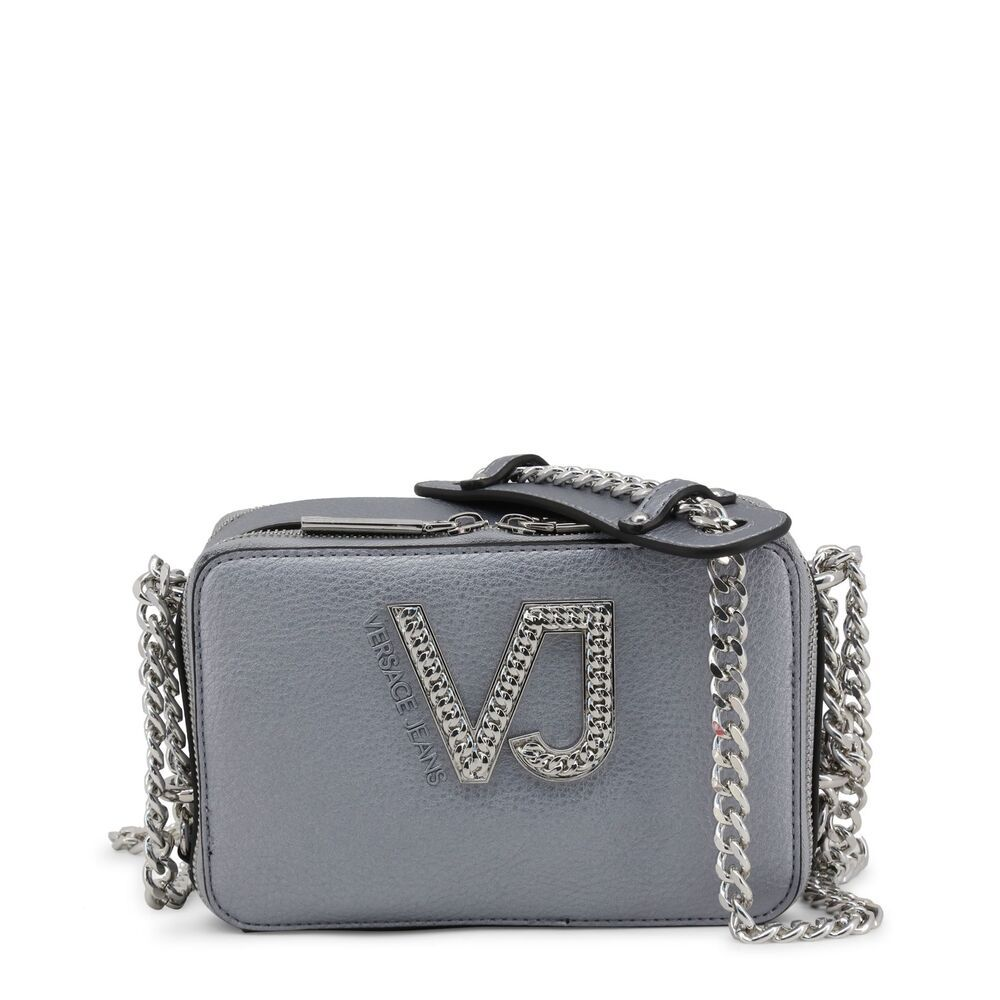 e3b5533187 Versace Jeans Women's Fashion Crossbody Grey Shoulder Bag Zip Faux Leather  #fashion #clothing #shoes #accessories #womensbagshandbags ...