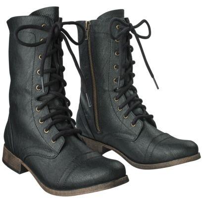 Combat Boots - Black | Fall-tastic - Costume | Pinterest | Colors ...