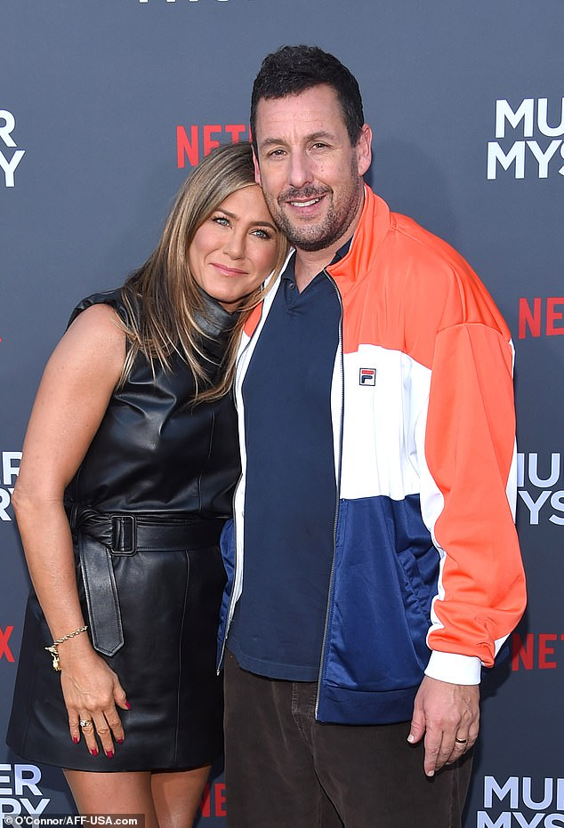 Jennifer Aniston and Adam Sandler reunit Adam sandler