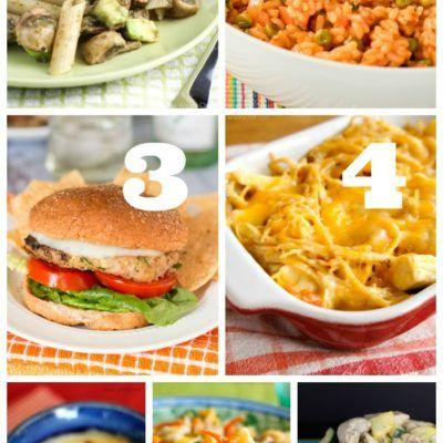Easy Weekly Dinner Menu #187: Sneaking in Veggies