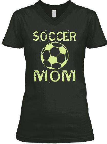 Soccer Mom Black T Shirt Front Soccer Shirt Soccer T Shirts Soccer Shirts For Women Soccer Shirts For Men Soccer Youth Shirt Football Shirt