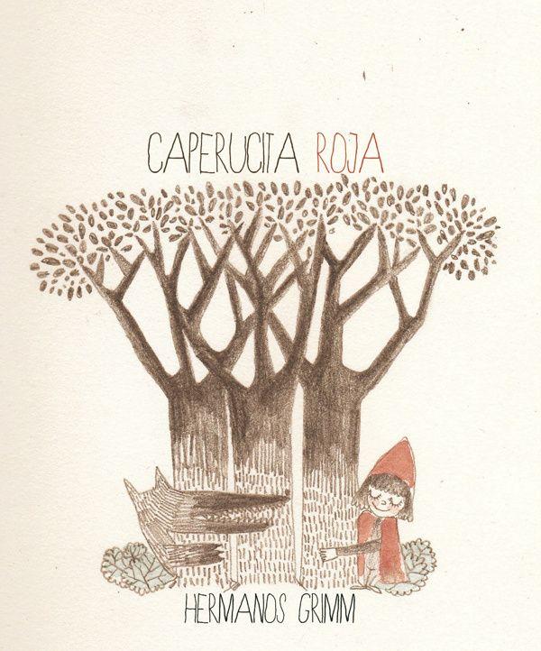 Little Red Riding Hood by Nevena Zecevic, via Behance | ♢Caperucita ...