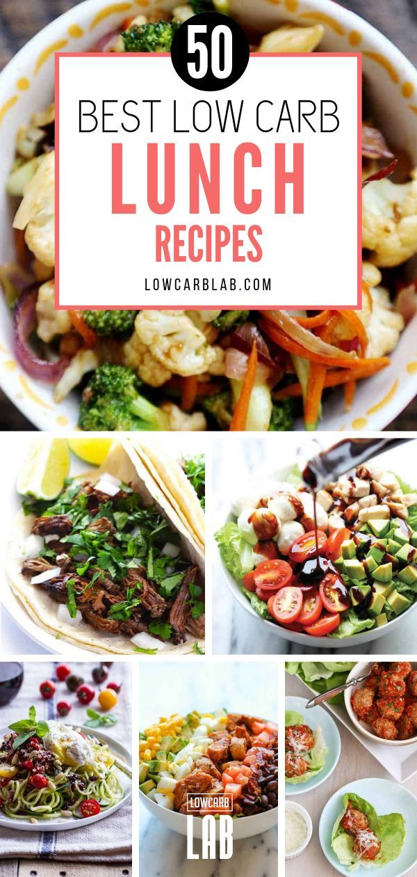Lose Weight with these 50 Delicious Low Carb Lunch Ideas images