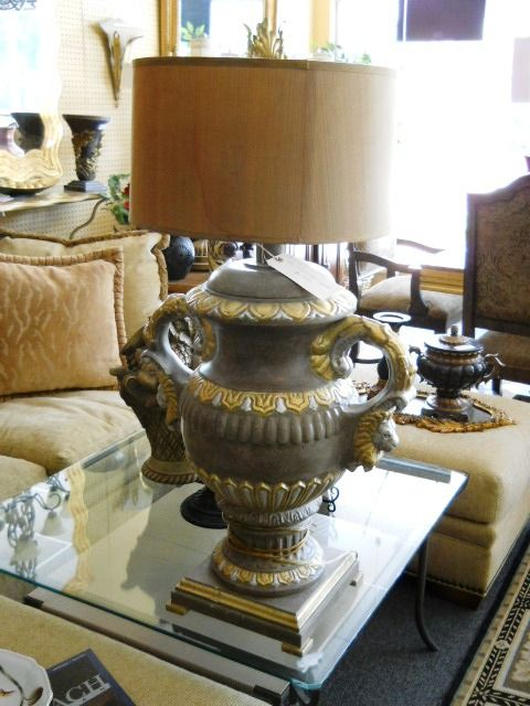 Boca Raton Florida · Very Unusual Lamp. Located At Past Perfect Consignment,  The Experts In Gently Used Furniture