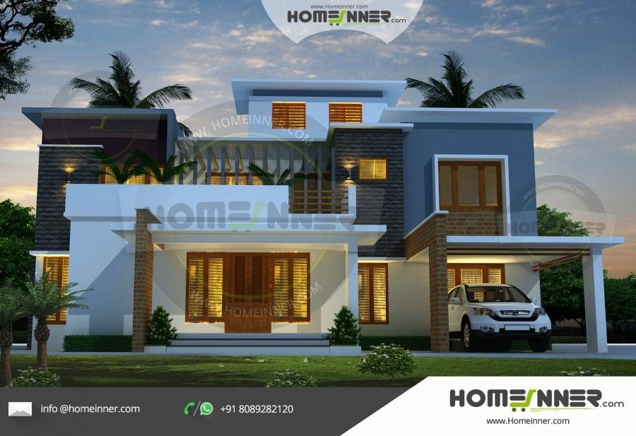 2550 Sq Ft 4 Bhk Best House Plan Beautiful House Plans Small House Design House Design