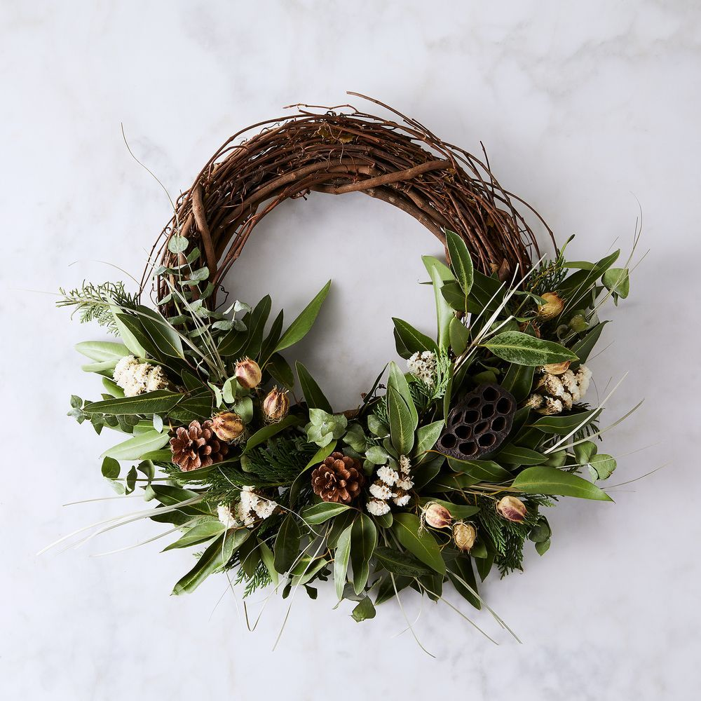 Large Winter Branch Wreath Christmas Wreaths Wreaths Wreaths