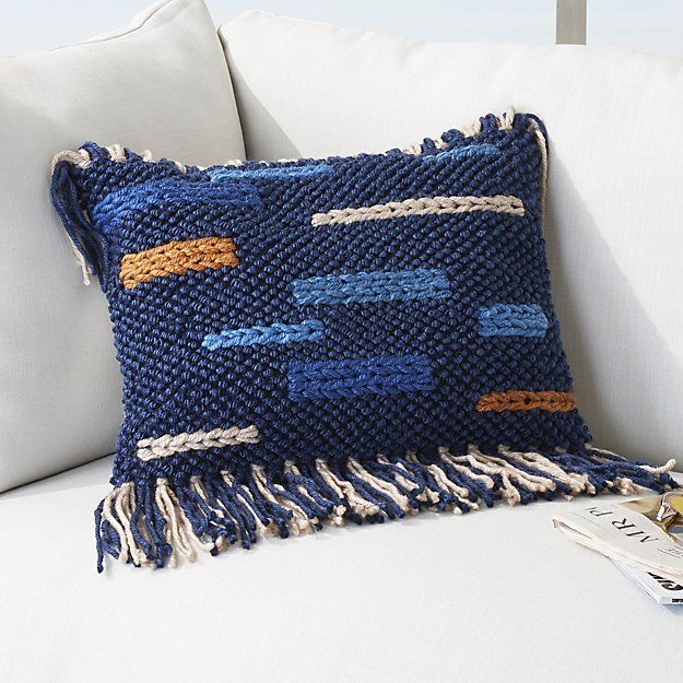 20 Quot X12 Quot Eye Candy Outdoor Pillow Sold Out Fringe