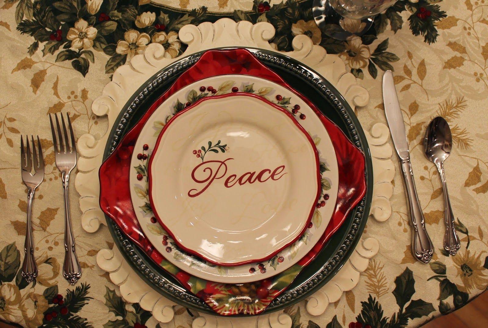 simple christmas tablescape country cottagesappetizer plateskitchen