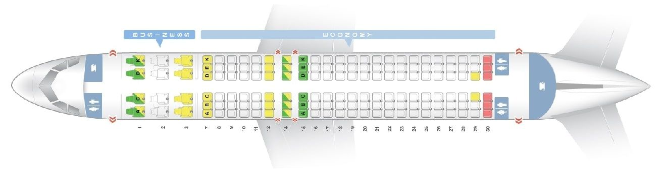 Seat Map And Seating Chart Airbus A320 200 Ceo Neo Avianca Airbus Fleet Vueling Airlines