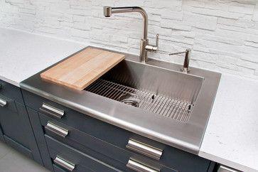 Julien Worktop Stainless Steel Sink Spaces Montreal Julien Kitchen Stainless Design Stainless Steel Sinks Home Decor Sink