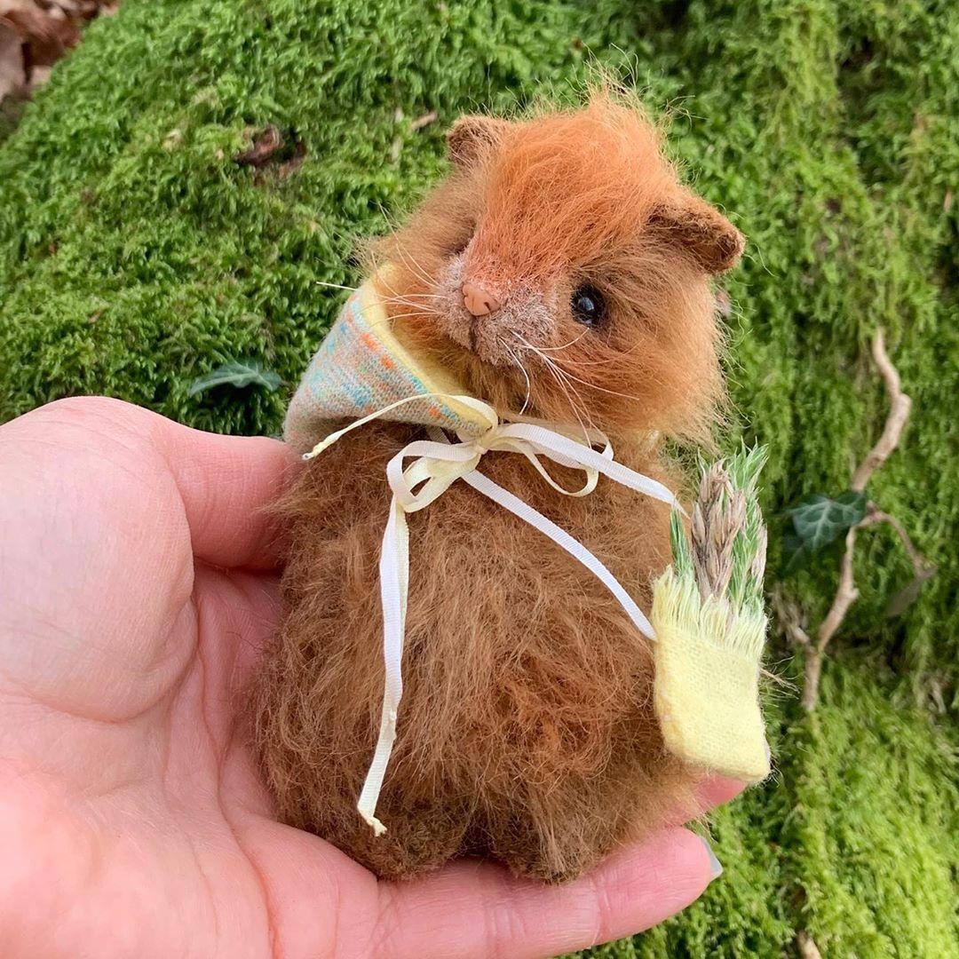 281 Otmetok Nravitsya 15 Kommentariev Animal Art Handmade Creatures Faber Olga Toys V Instagram Hotela Svyazat V 2020 G Valyanie Iglami Morskaya Svinka Svinki