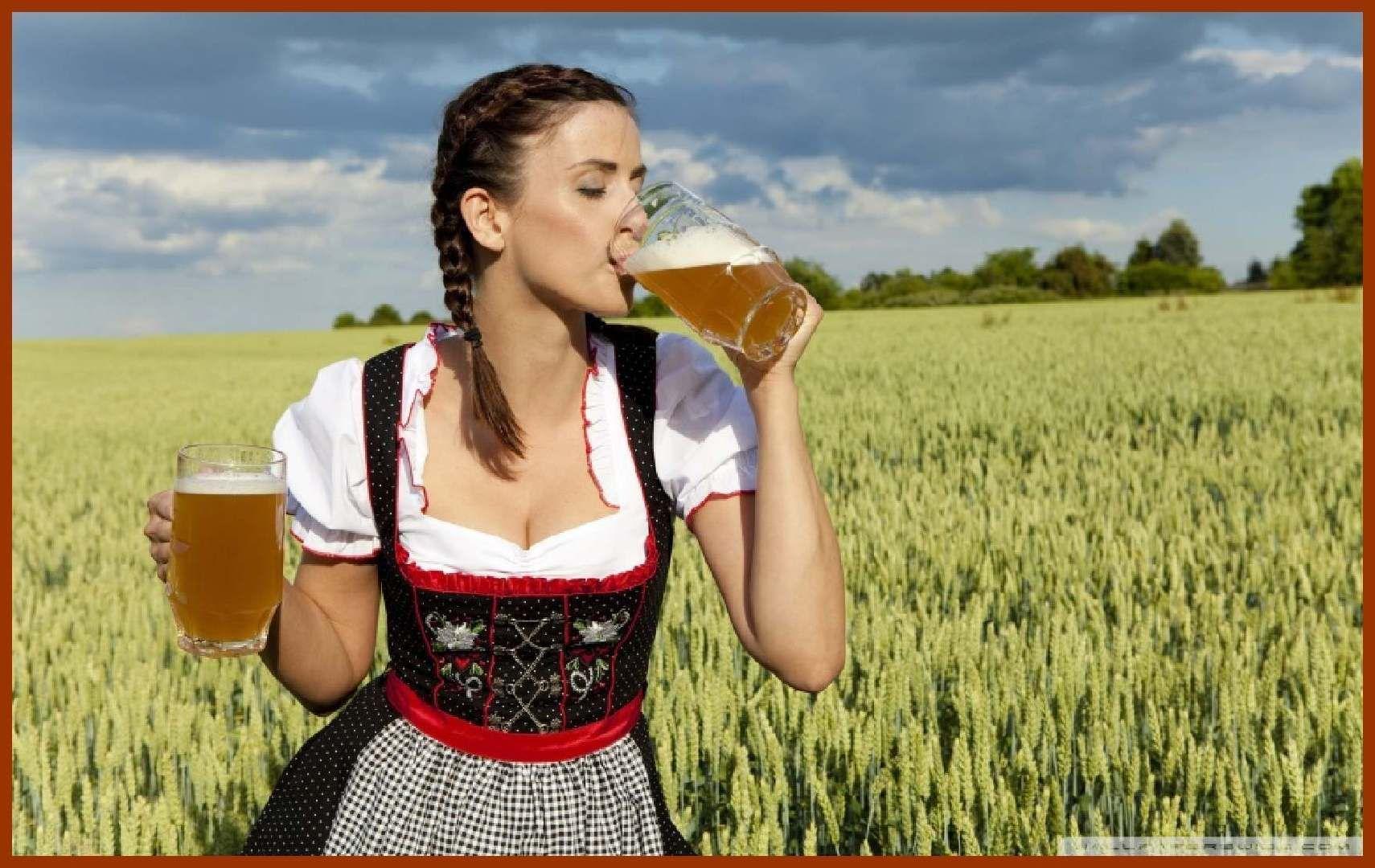 excellent-german-woman-drinking-beer-wallpaper