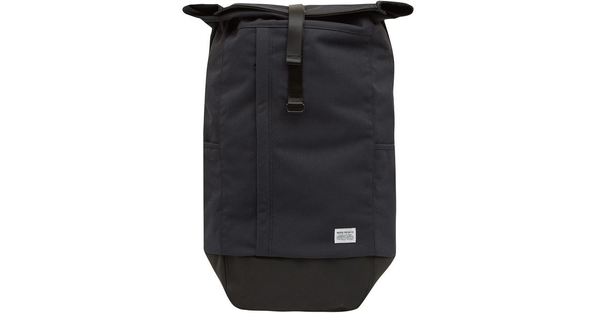 6f539abc480 Norse projects Black Backpack in Black for Men   Lyst   Bags   Black ...