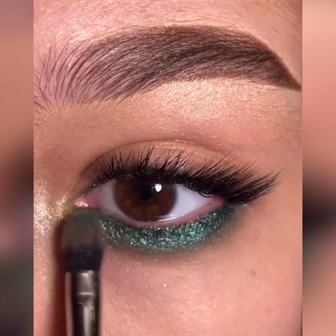 emerald green eye makeup tutorial  amazing eye look