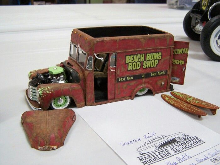 Bums Bus - Model page