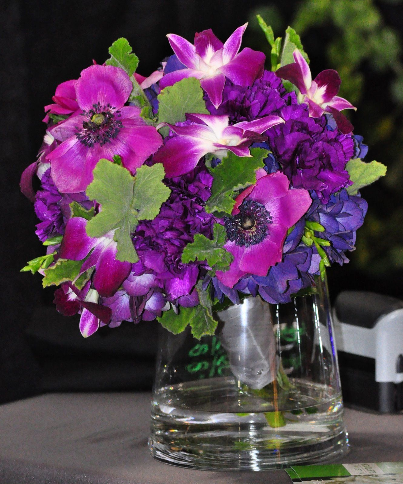 Wedding bouquets not flowers  Fuschia Lily Bridal Bouquet   love the punch of fuschia  the