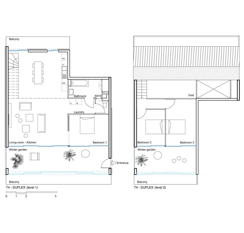 Lacaton & Vassal Architectes, Philippe Ruault · 59 dwellings