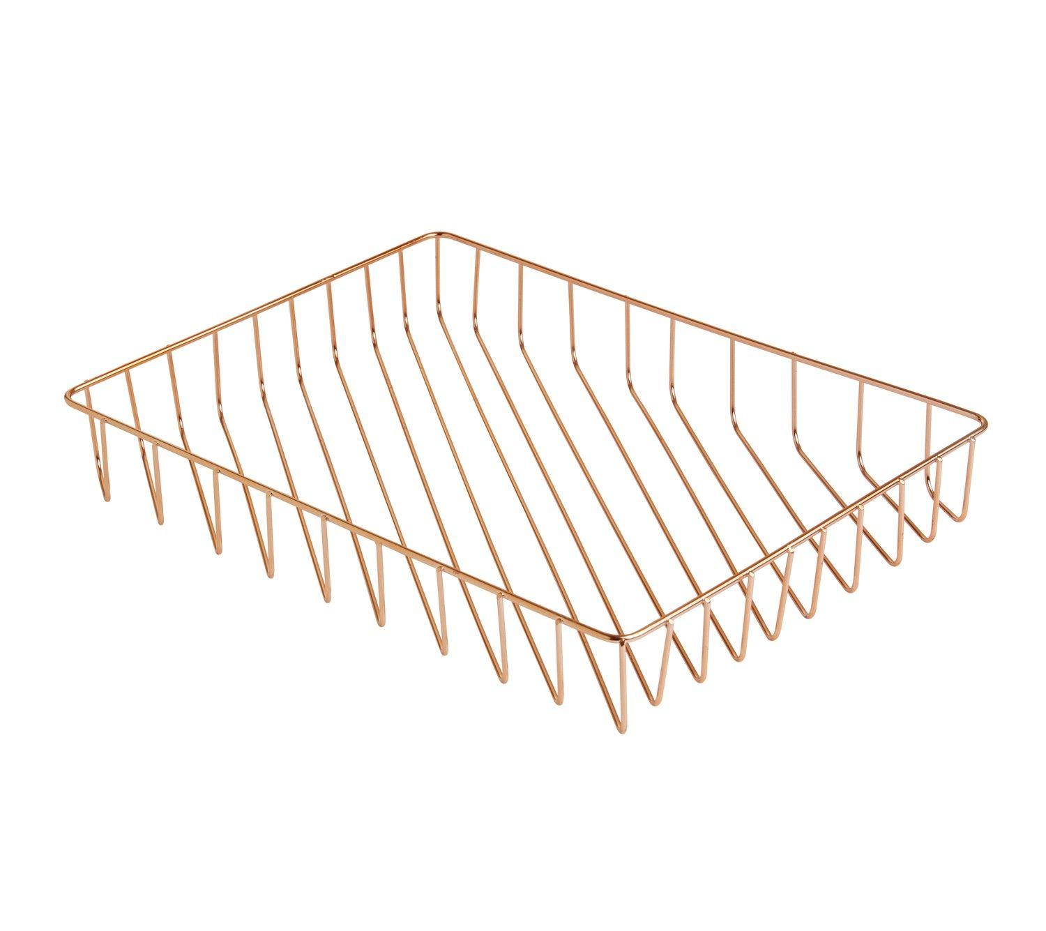 This Stylish Copper Wire Tray Is Perfect For Keeping Your Desk Organised In  Style. Use