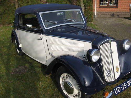 Te Koop Gerestaureerde DKW F8 Cabrio For Sale (1940)