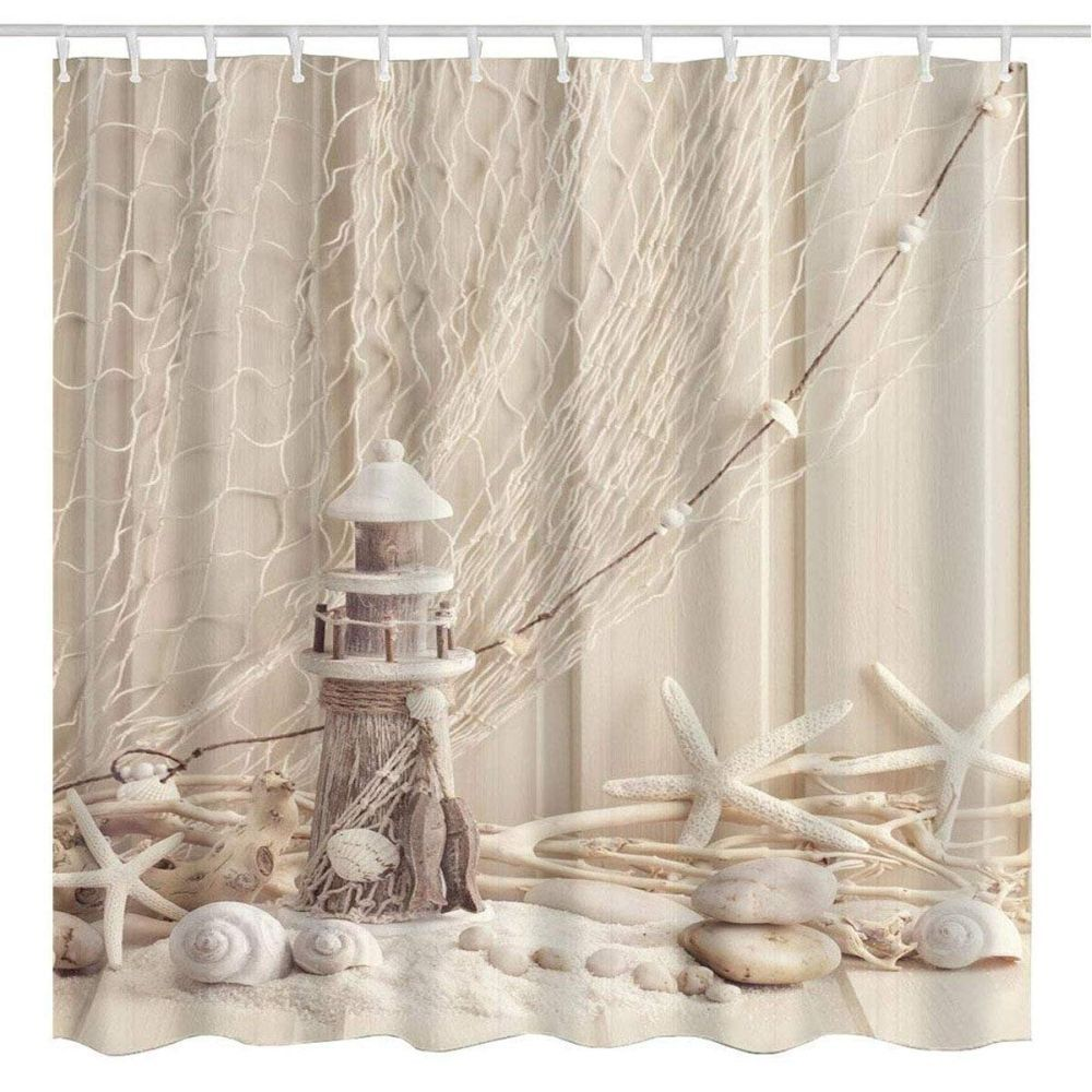 13 Nautical Bathroom Ideas Beach Shower Curtains Nautical