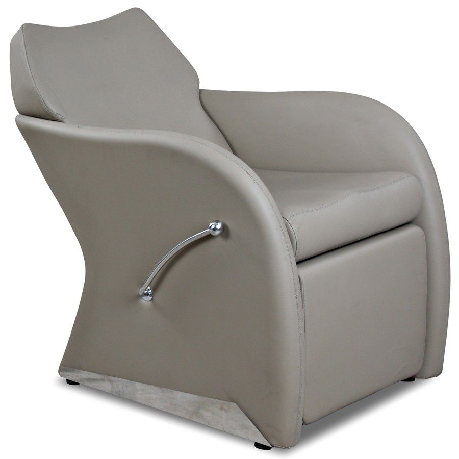 44999 leisure sand shampoo chair with footrest angle