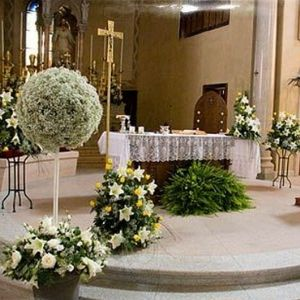 WEDDING DECORATION IDEAS FOR THE CHURCH | the day i say i do ...