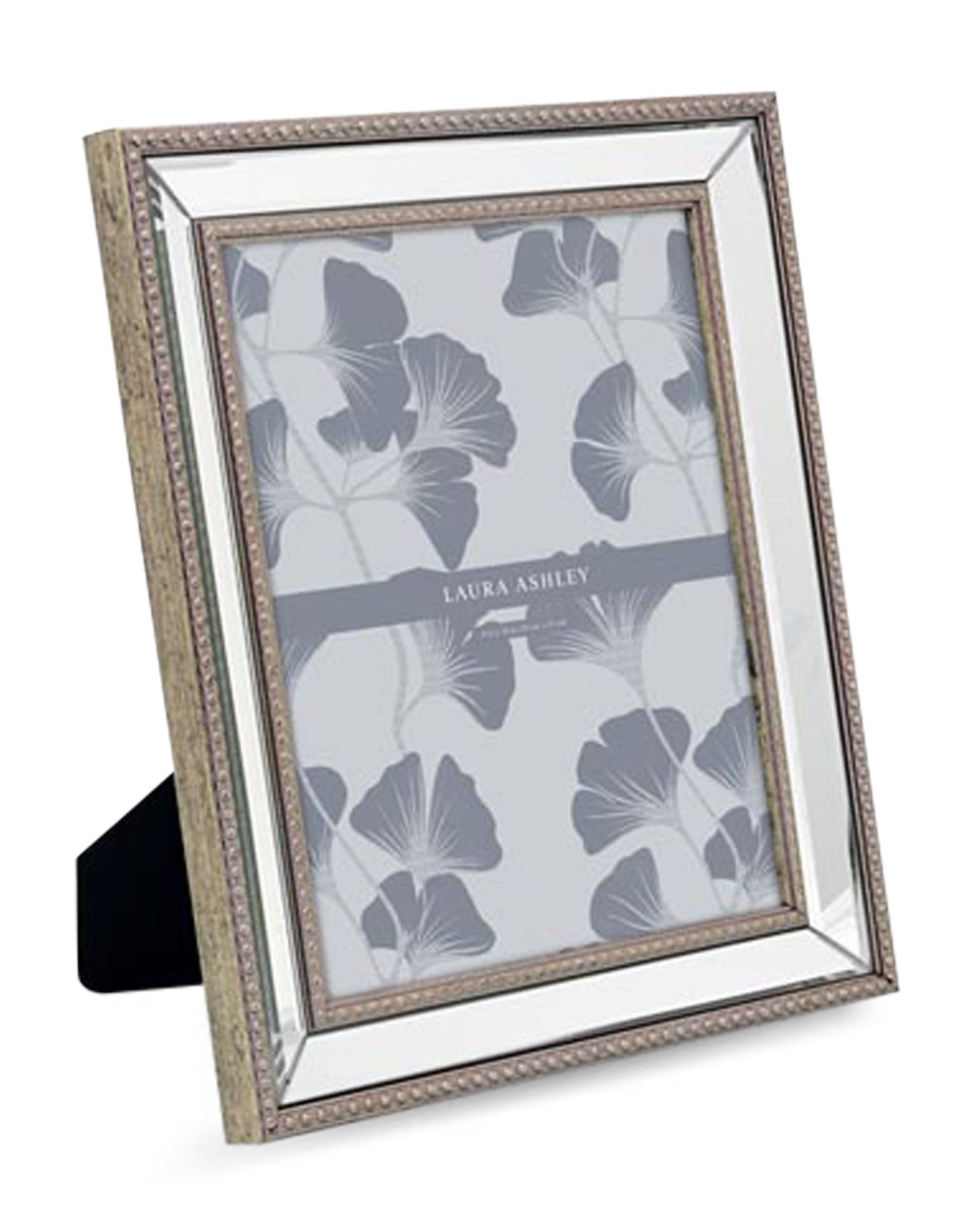 Laura Ashley 8 X 10 Bead Mirror Picture Frame