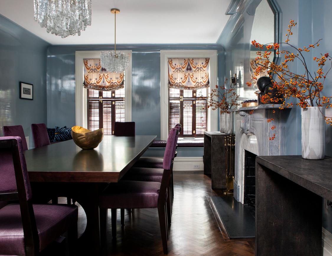Decor & Trends Interior design, Interior, Dining room design