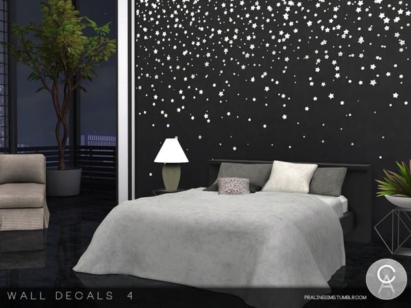 pralinesims wall decals 4 home decor decor furniture on wall stickers painting id=98348