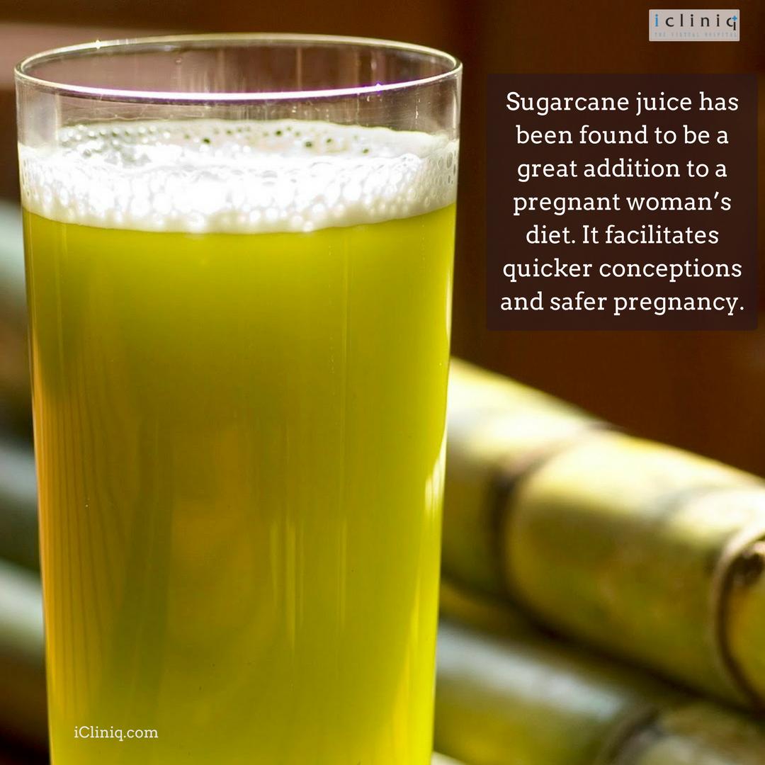 Benefits Of Sugarcane Juice On Pregnancy