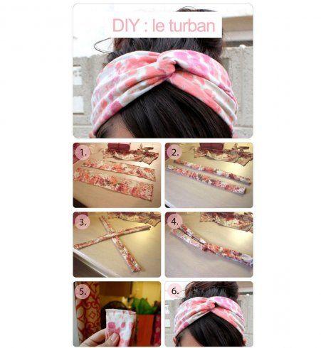 DIY mode : le headband vintage