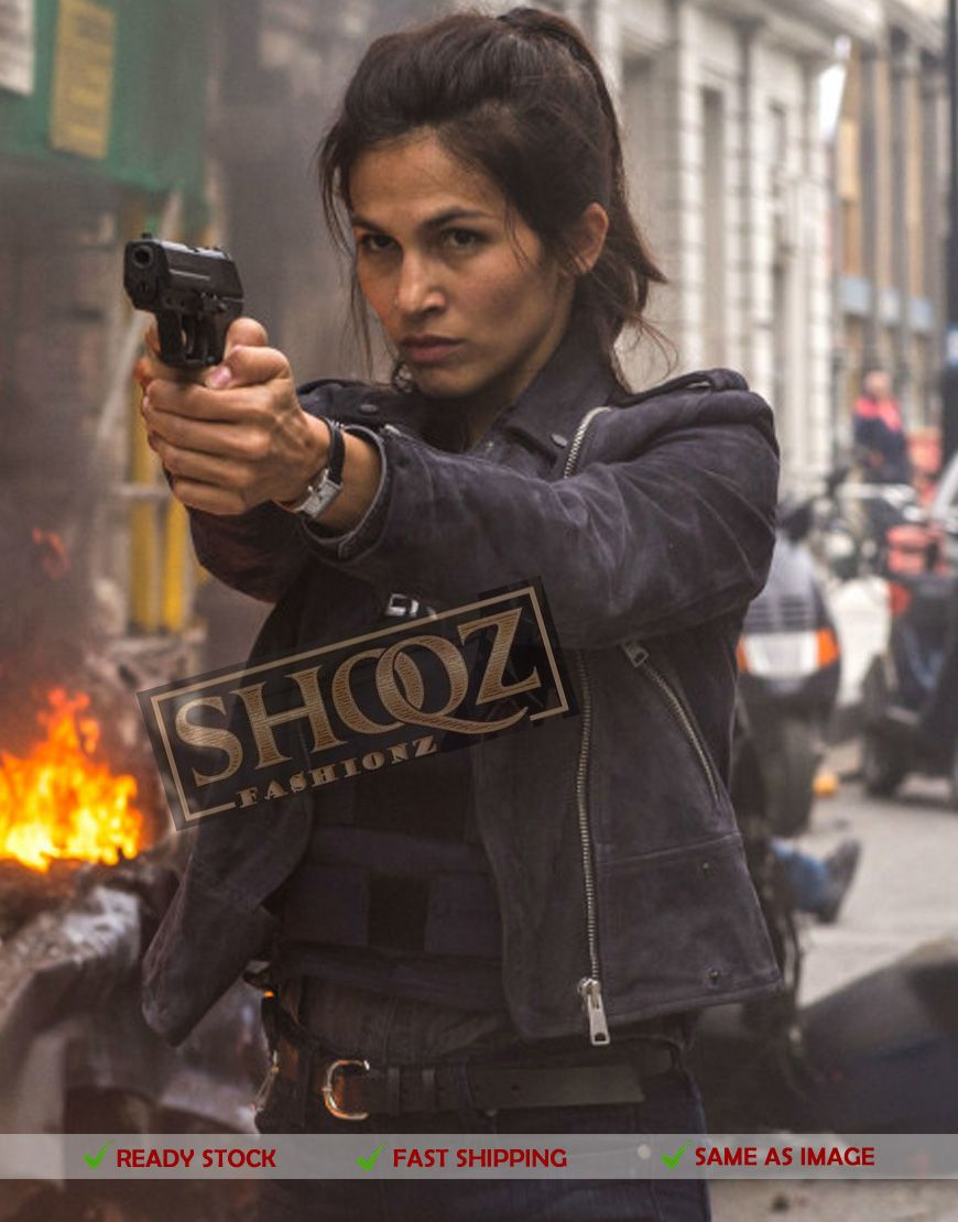 50% off Elodie Yung Jacket | Amelia Roussel The Hitman