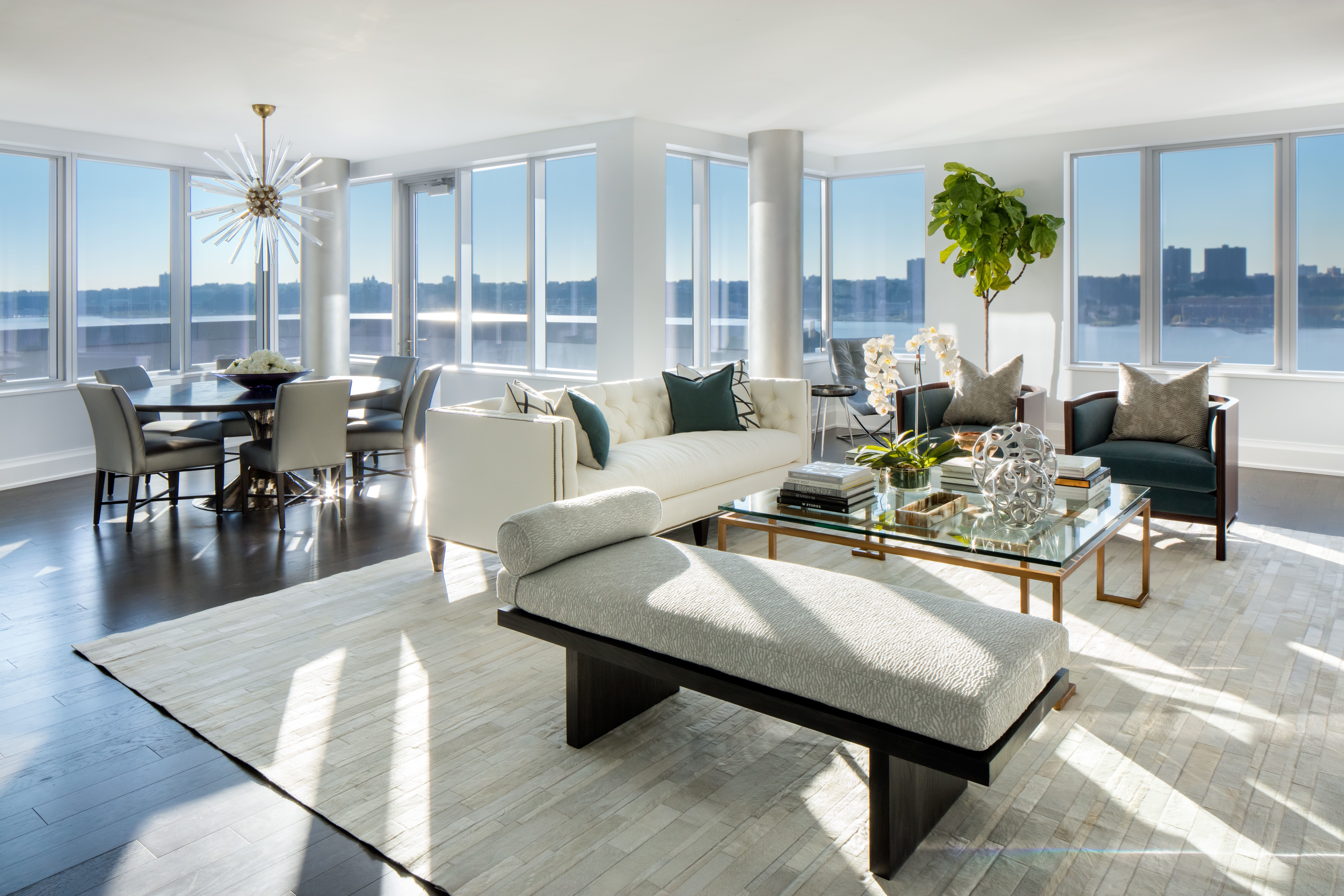 architectural digest furniture. NYC High Rise Luxury Condo With Swimming Pool | Architectural Digest Furniture