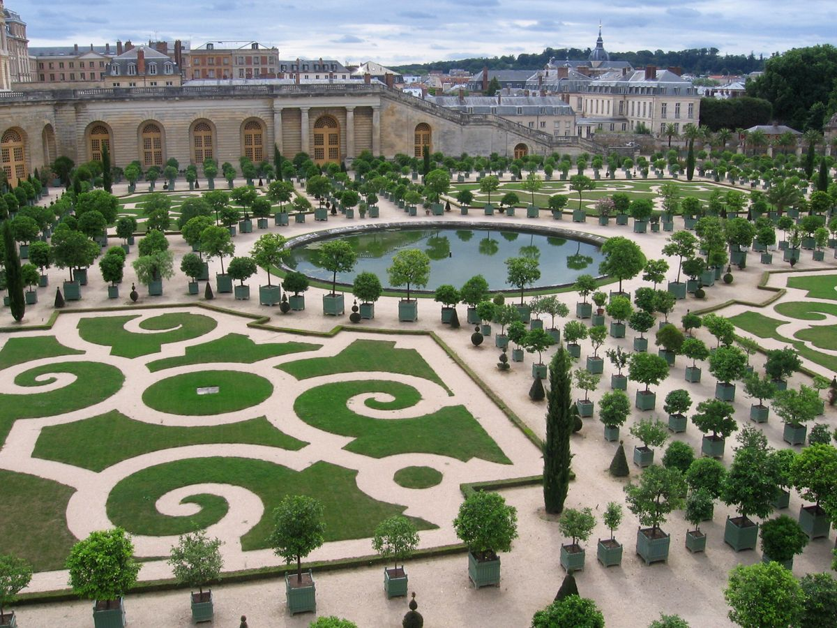 The Orangery At The Palace Versailles In Paris Versailles Garden