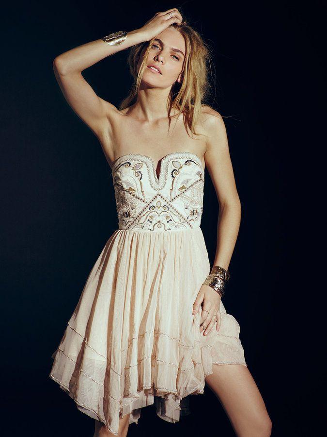 Free People - Festival Bodice Mini dress | Free people ...