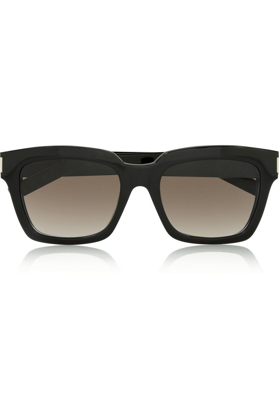 8f56754b238 Saint Laurent - Bold square-frame acetate sunglasses