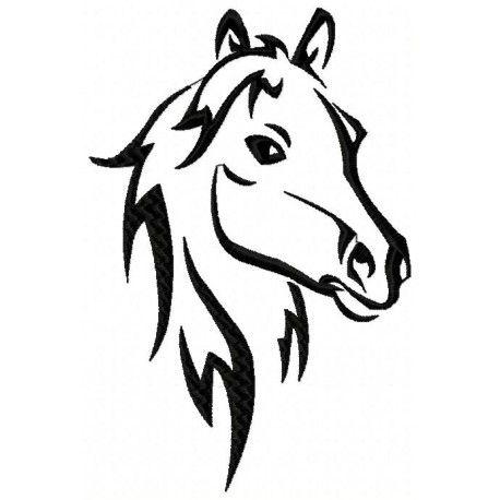 Peignoir de bain t te de cheval esquisse bois chantournage t te de cheval dessin cheval - Tete de cheval a imprimer ...