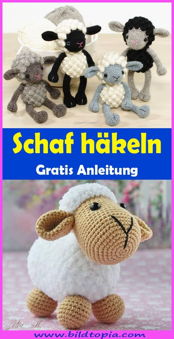 Photo of Häkeln Sie Amigurumi-Schafe – Kostenlose DIY-Anleitung – Wellecraft