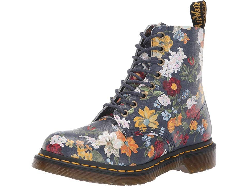 Dr. Martens 1460 Pascal Darcy Floral Women's Boots DMS Navy
