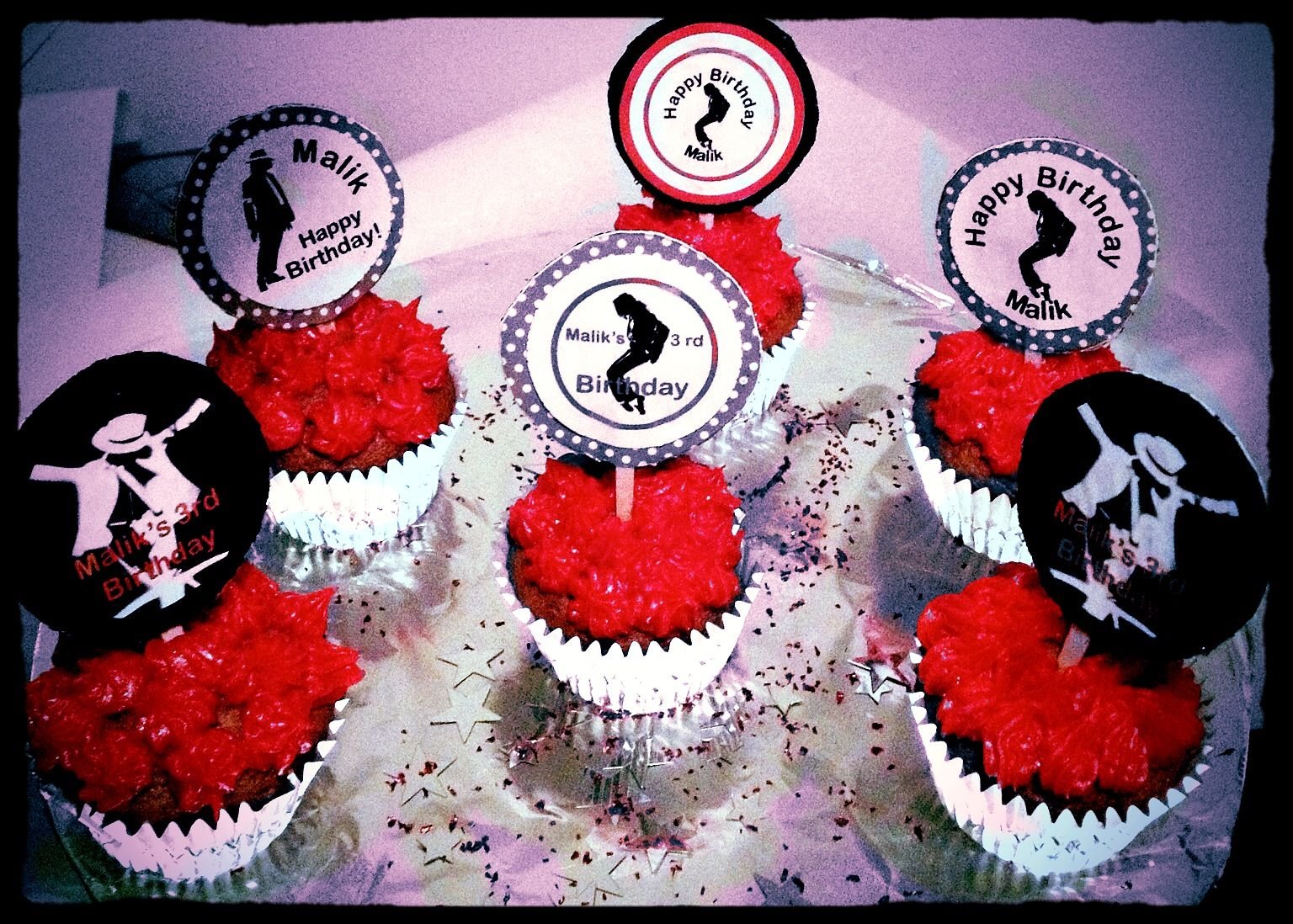DIY Birthday Party Idea Michael Jackson Cake Toppers Visit Etsy Shop Thepartycafe